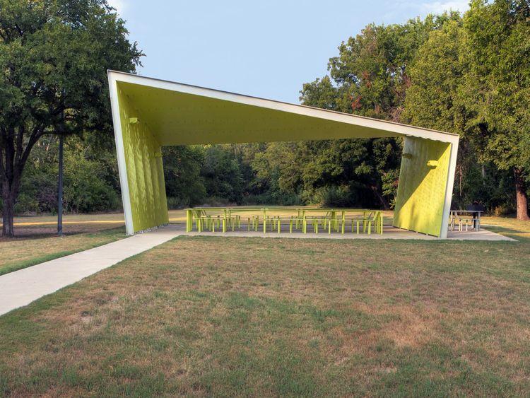 a modern park pavilion in dallas snohetta architexas wood pinterest pavilion. Black Bedroom Furniture Sets. Home Design Ideas