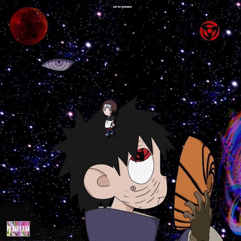 Obito On Instagram Obito Vs The World Art By Rxmce Anime Wallpaper Phone Cool Anime Wallpapers Anime Wallpaper Iphone