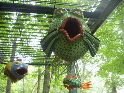 Fish bird feeders - Love