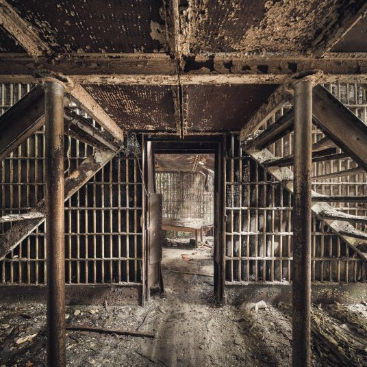 Abandoned Jail In Pictures: Photographer Visits Spooky