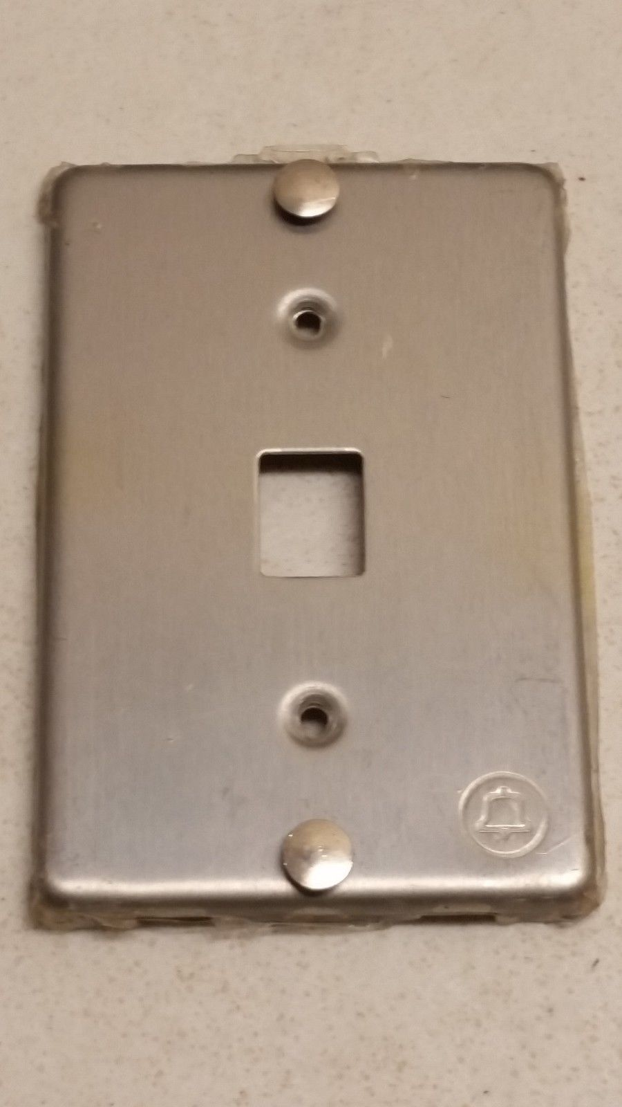 hight resolution of  6 99 western electric 630a4 stainless wall jack face plate cover only bell