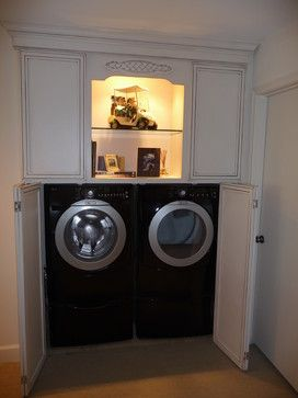 Bi Fold Doors Need To Be Louvered Doors For Venting Purposes Effect On Soundproofing Laundry Room Closet Laundry Room Design Laundry Closet