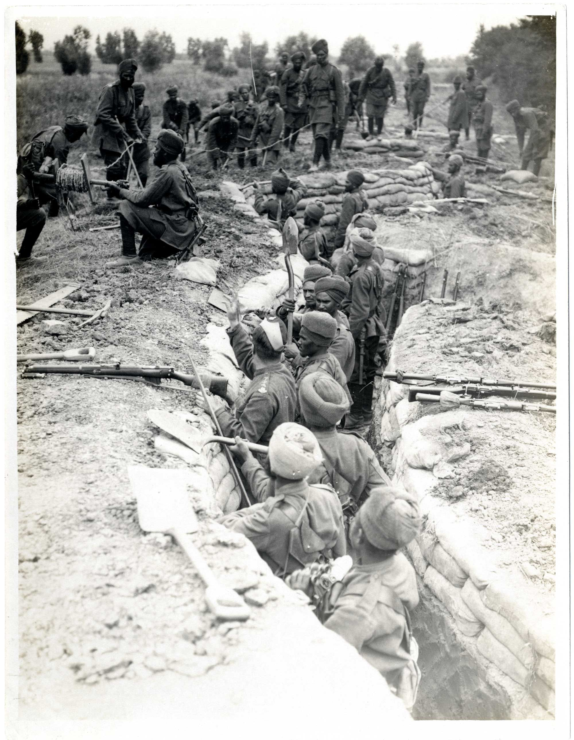 Life in trenches ww1 essays