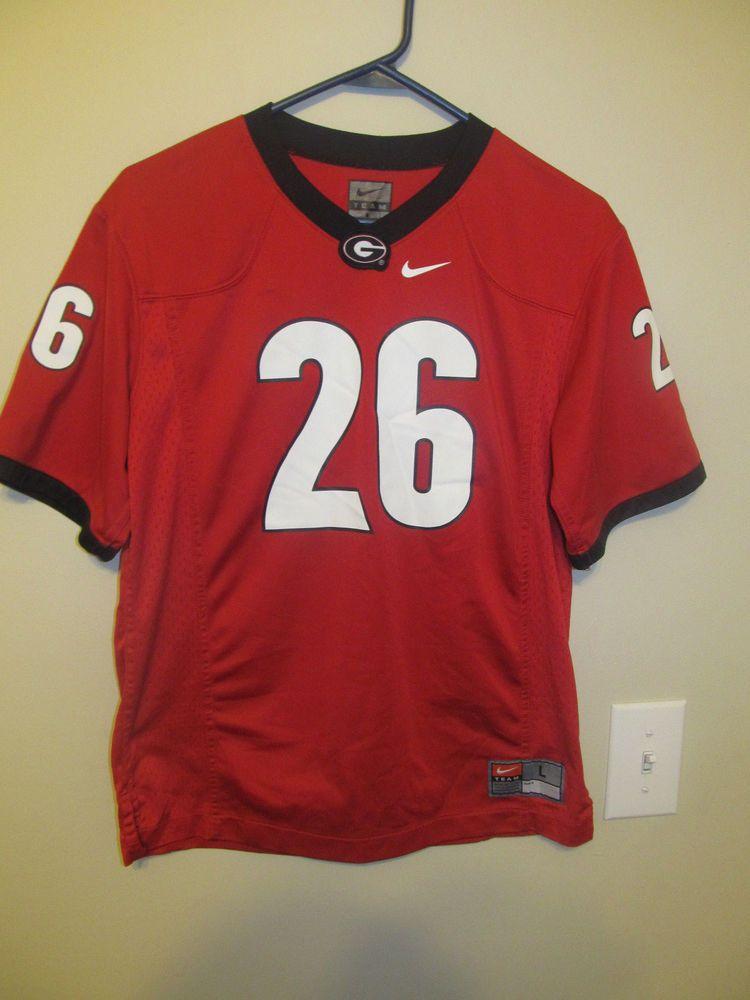 Bulldogs 26 Football jersey Nike Youth large