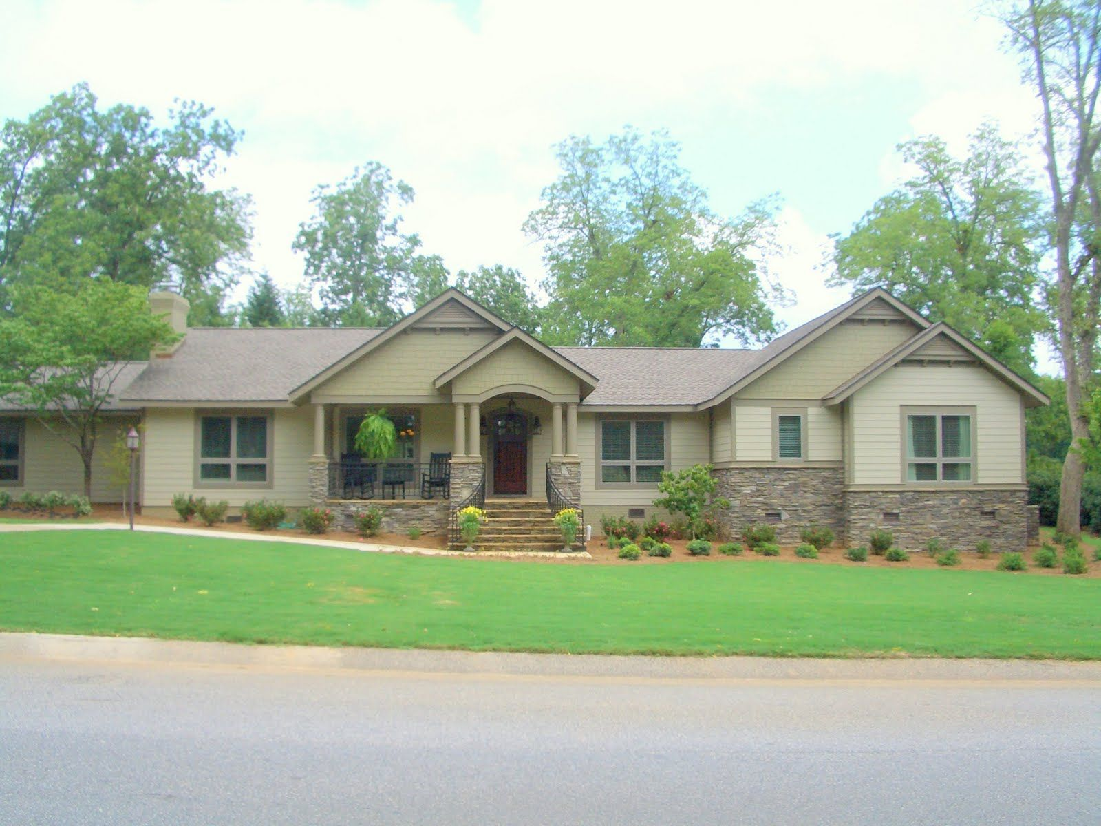 enjoyable building green homes ideas. Over the years  I ve had opportunity to be involved in renovation of a number classic ranch houses The house enjoyed it s updated home with wooden front deck Google Search