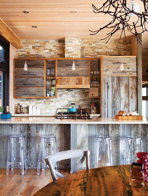 25 Of Our Most Beautiful Kitchen Backsplash Ideas   Rustic ...