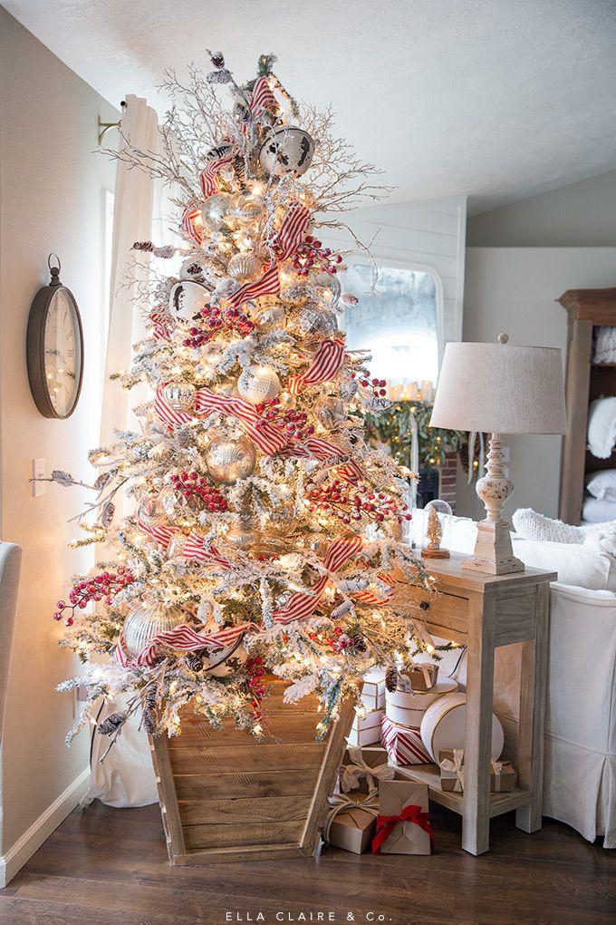 Christmas Home Tour For the holidays Pinterest Christmas