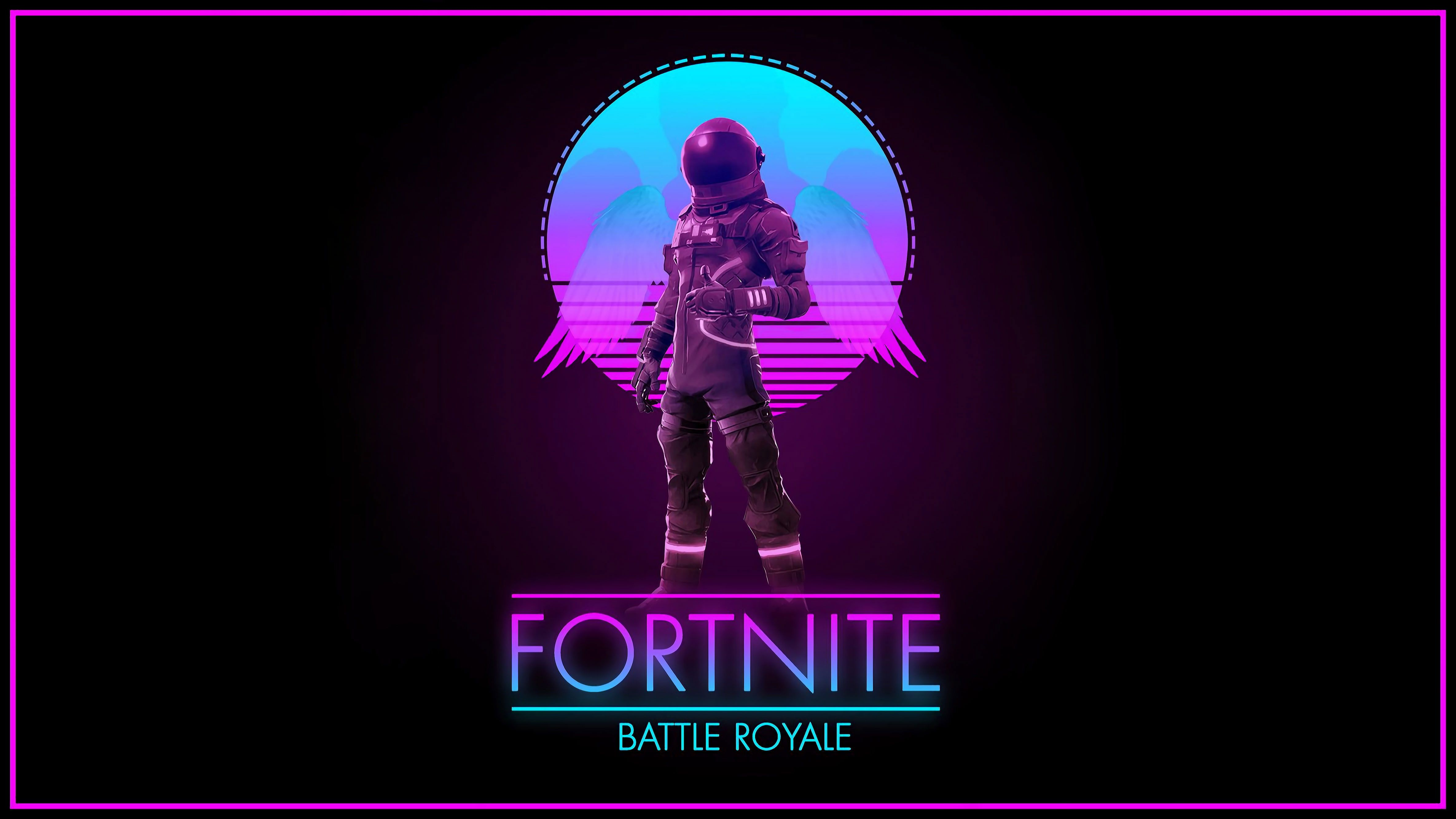 Fortnite Wallpaper Music Background Art Synth Retrowave Battle Royale In 2020 Cool Backgrounds Synthwave Hd Wallpaper