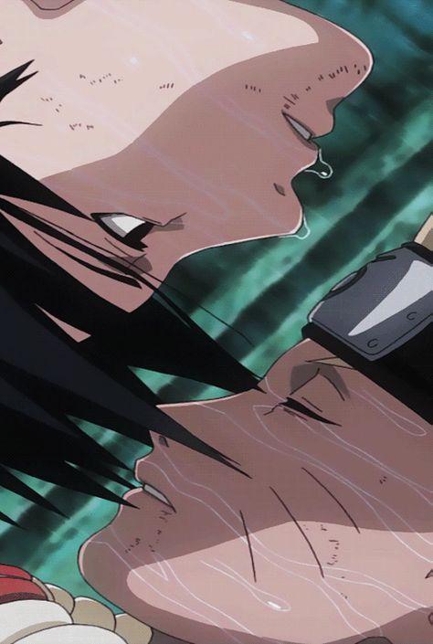 Photo of naruto x sasuke uploaded by ☾。奉迎至我が頁。☼ on We Heart It