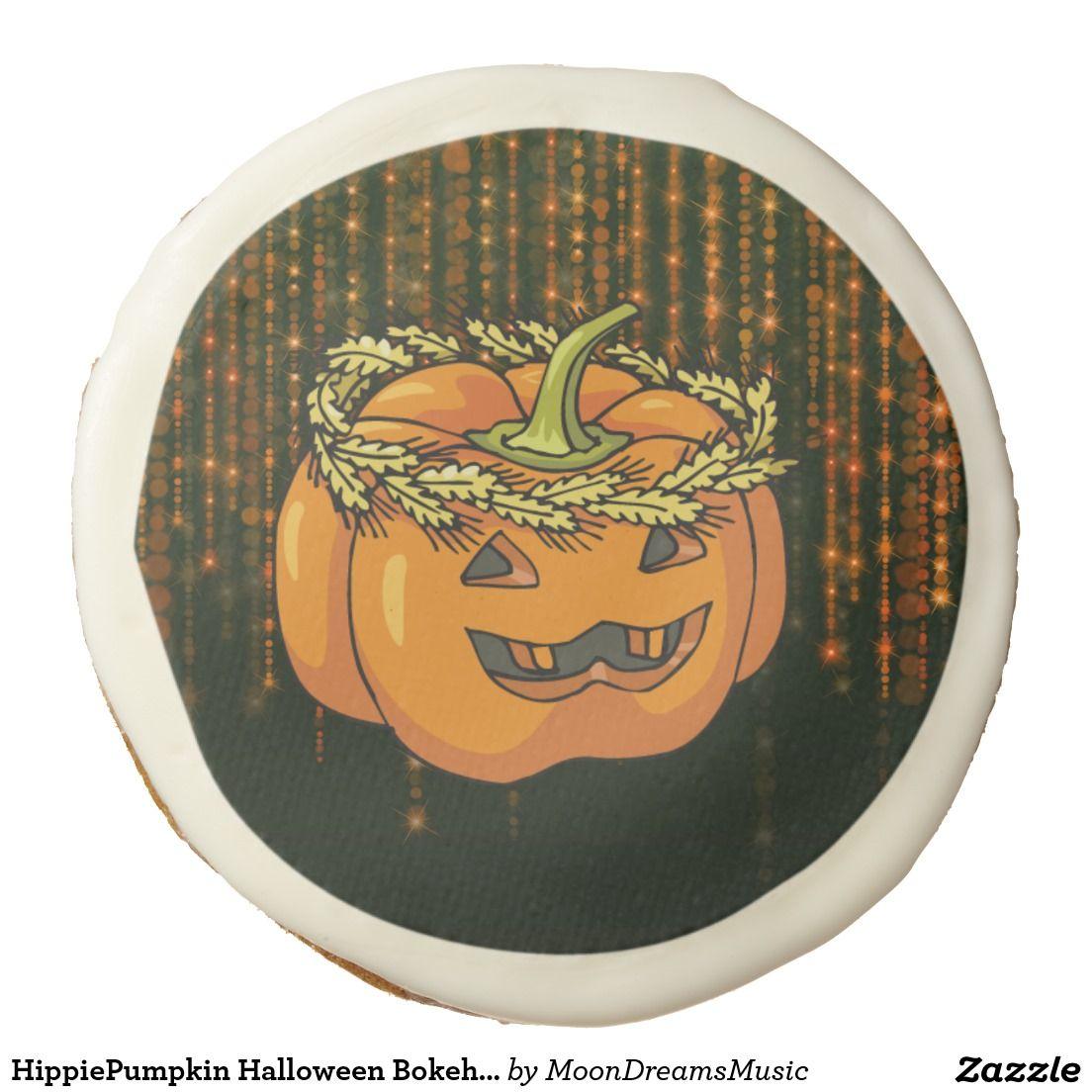 #HippiePumpkin #HalloweenBokehLights #SugarCookies by #MoonDreamsMusic #OneDozenCookies #HalloweenTreats