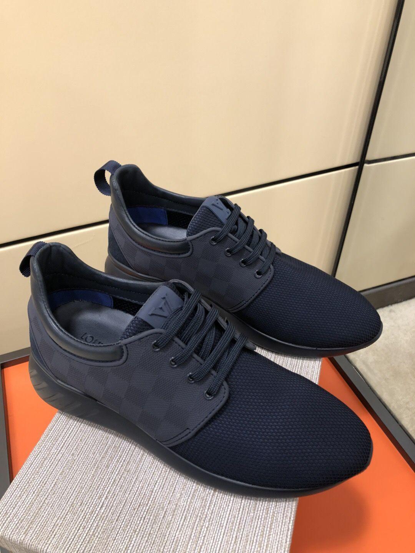 51aabb905 Fastlane Louis Louis Vuitton Mens Sneakers, Louis Vuitton Shoes, All Black  Sneakers, Gentleman