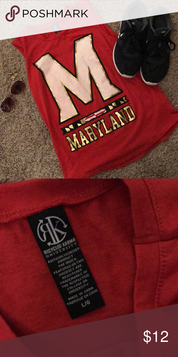 University Of Maryland Tank University Of Maryland Tank Things To Sell