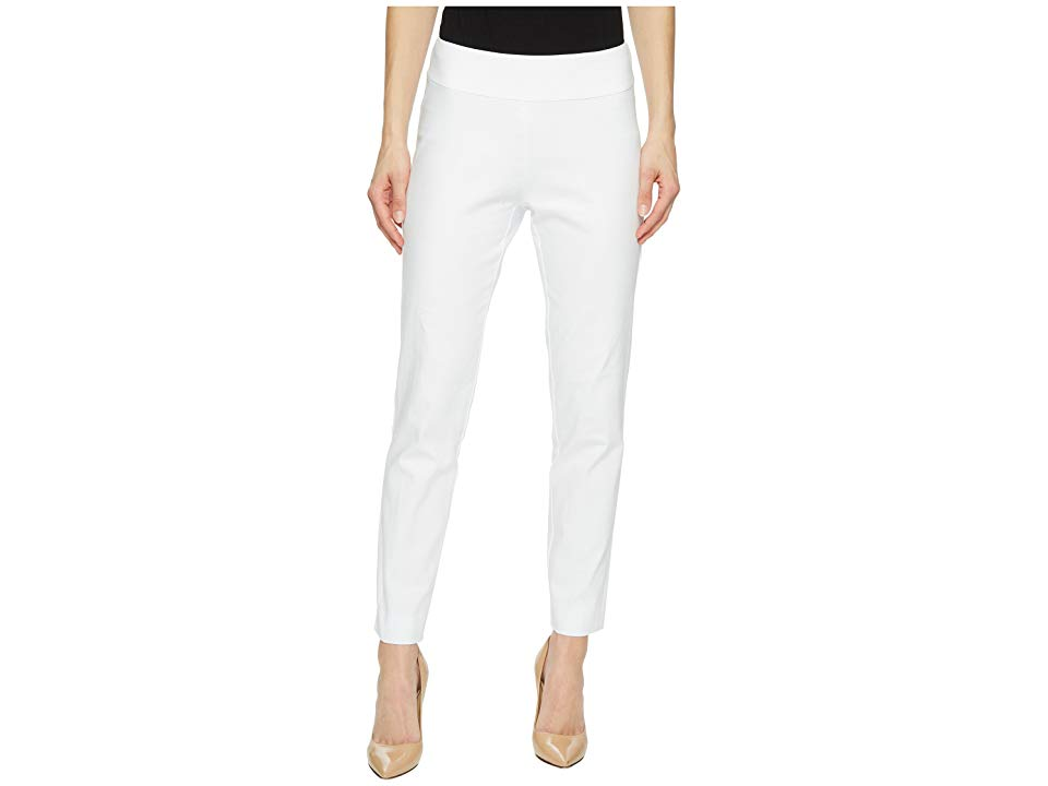 Krazy Larry PullOn Denim Ankle Pants White Womens Jeans KRAZY LARRY pants create a bold look for your wardrobe that stands out above the rest Perfect for office and date...