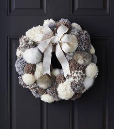 DIY Pom Pom Wreath Tutorial From Joannu0027s