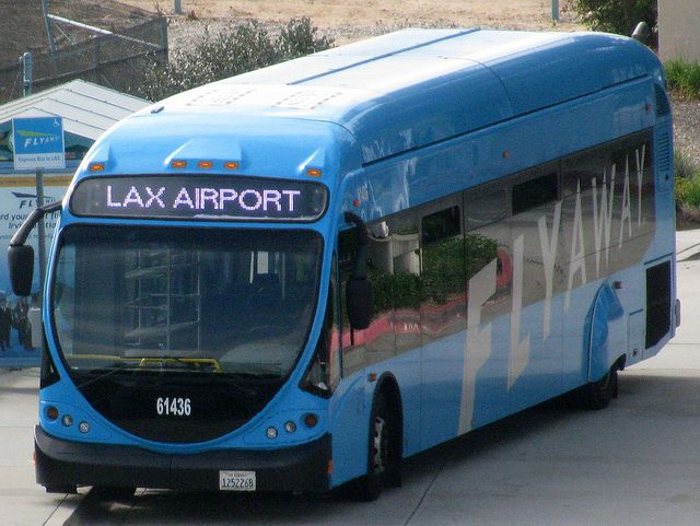 Lax Flyaway Bus Adds Hollywood Route Bus Passenger Route