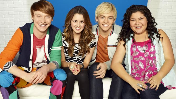 Image result for austin and ally cast then