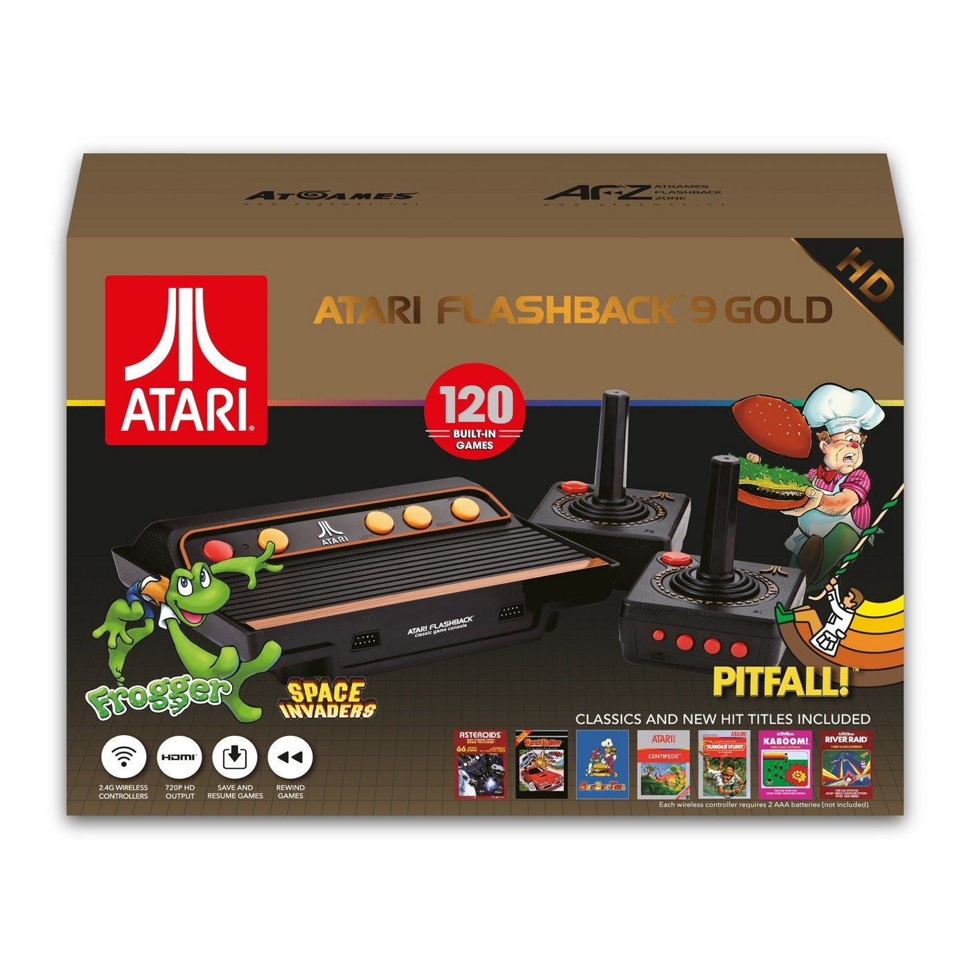 The Official Game List For The Atgames Atari Flashback 9