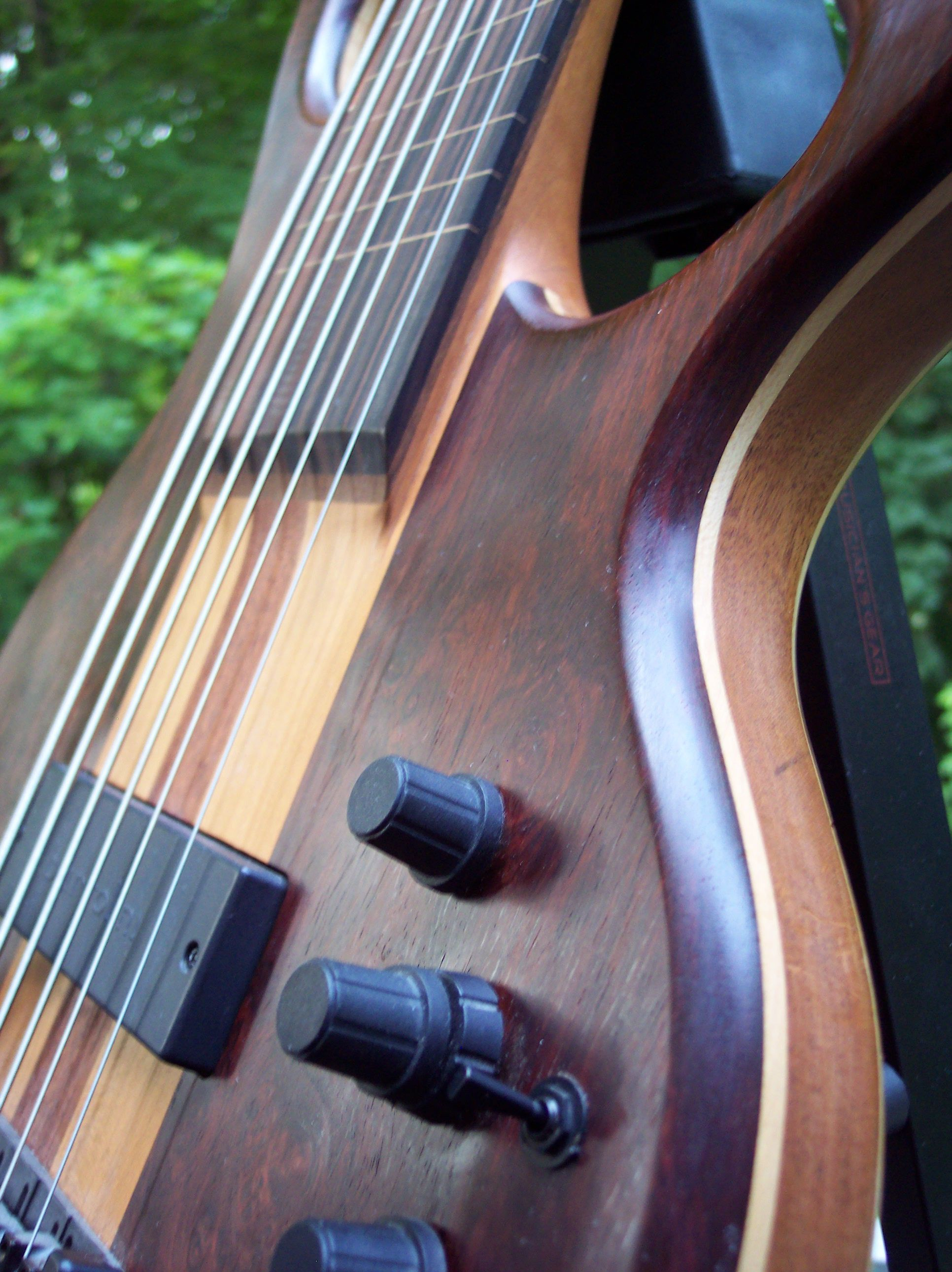 FBB six-string fretless bass