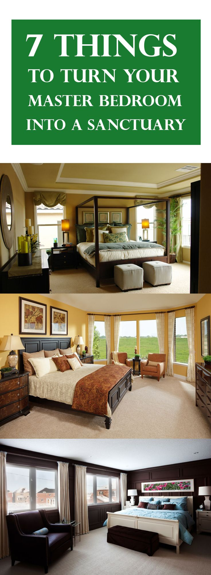 7 Things To Turn Your Master Bedroom