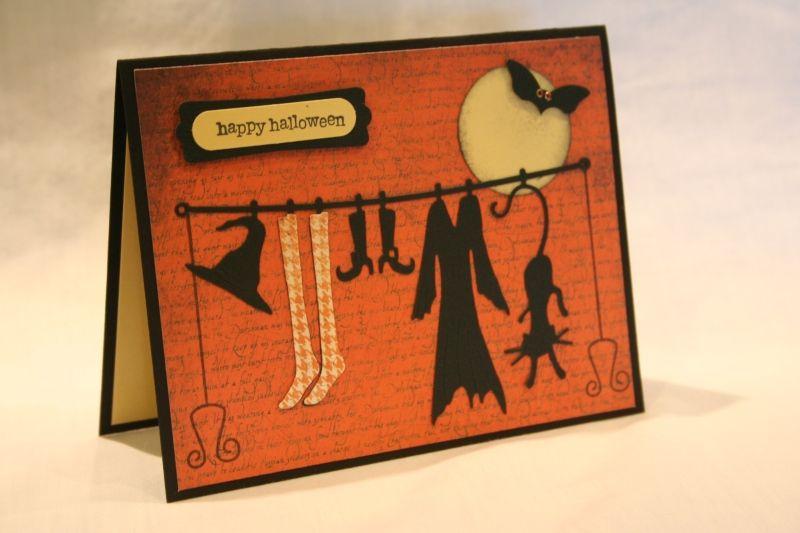 Открытки на хэллоуин своими руками для девочек, новым днем