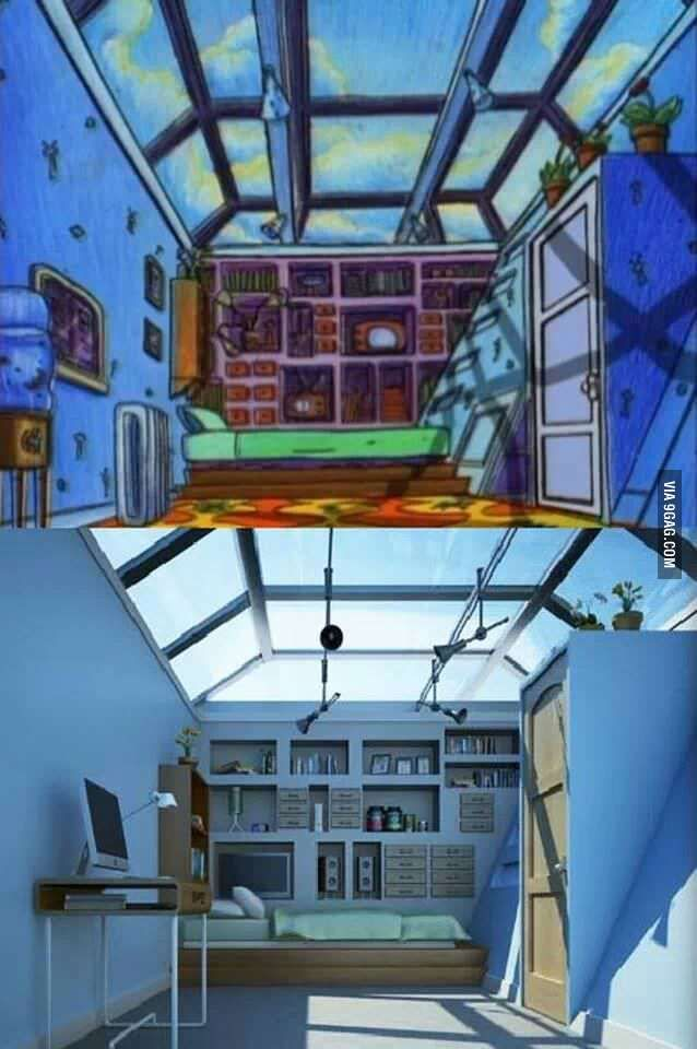 A childhood dream come true: Hey Arnold's bedroom has been duplicated in the real world.