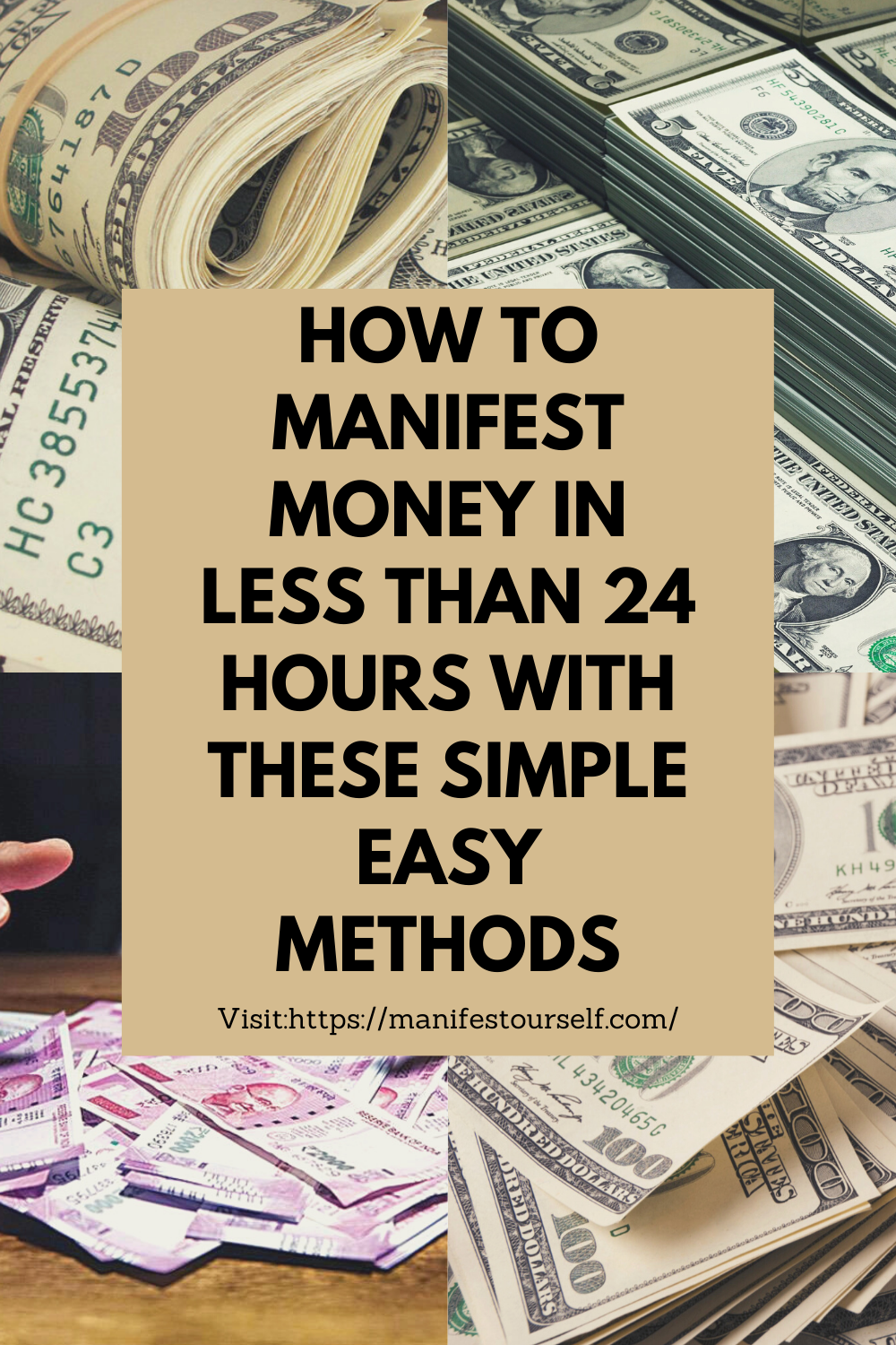 Learn How To Manifest Money In 24 Hours Law Of Attraction Tips Manifestation Law Of Attraction Tips Manifesting Money