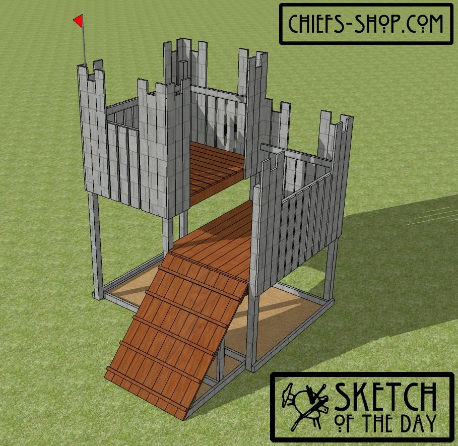 Sketch Of The Day: Castle Play Fort