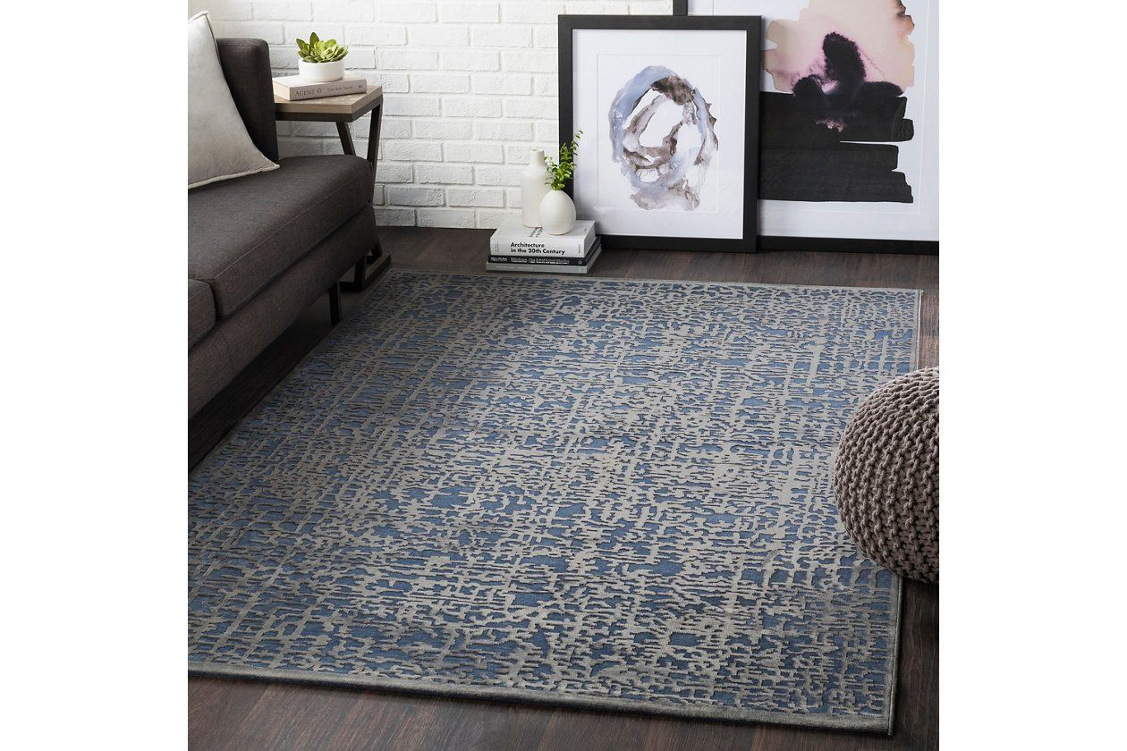 "Rectangular 5'2"" x 7'3"" Area Rug Ashley Furniture"