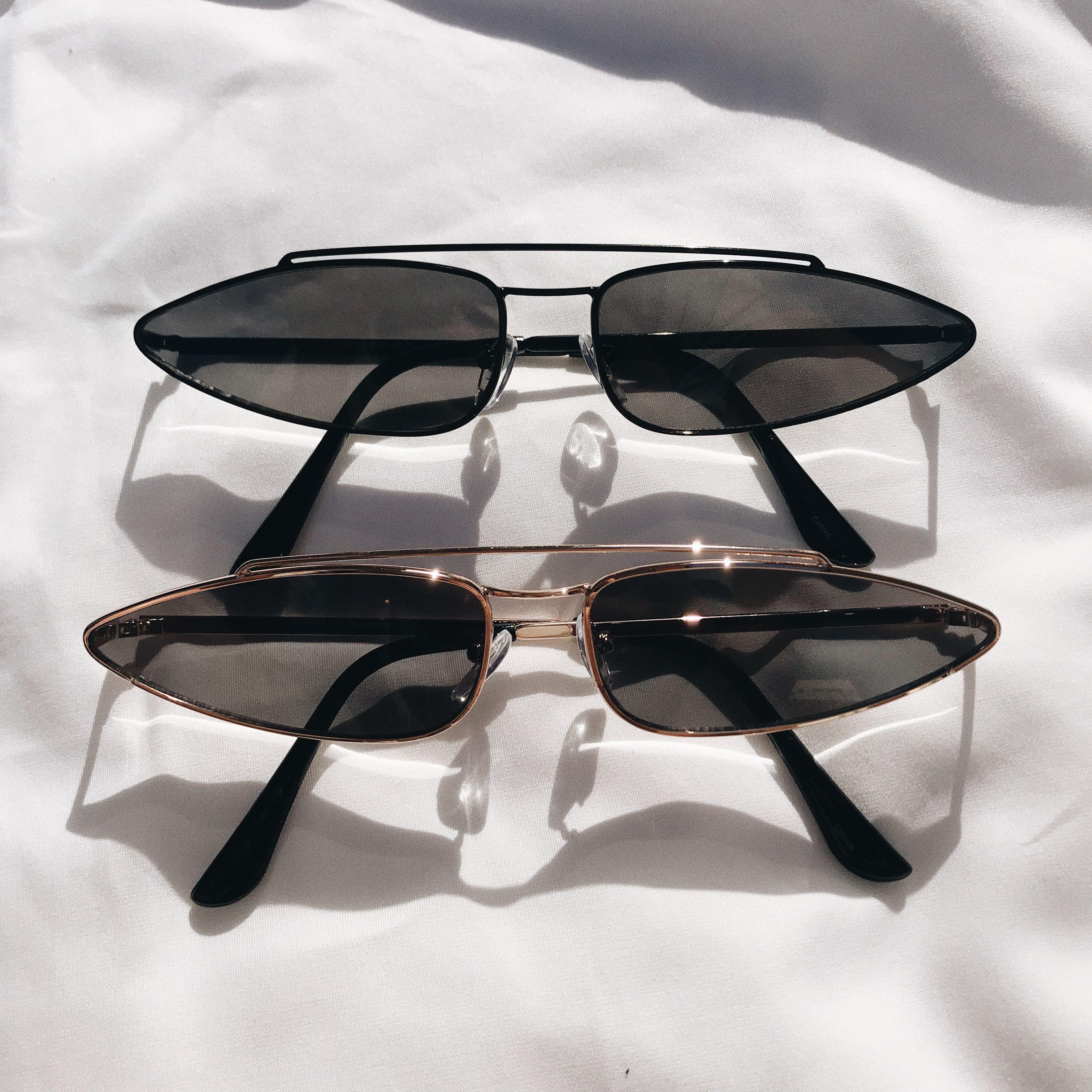43e6c159b08 Brillies - Pointy Vintage Triangle Sunglasses  20