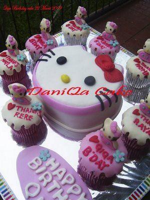 Cara Membuat Kue Ulang Tahun Hello Kitty Http Kudalu Com Cara Membuat Kue Ulang Tahun Hello Kitty Kue Ulang Tahun Kue Cupcake