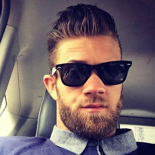 bryce harper hairstyles celebrity
