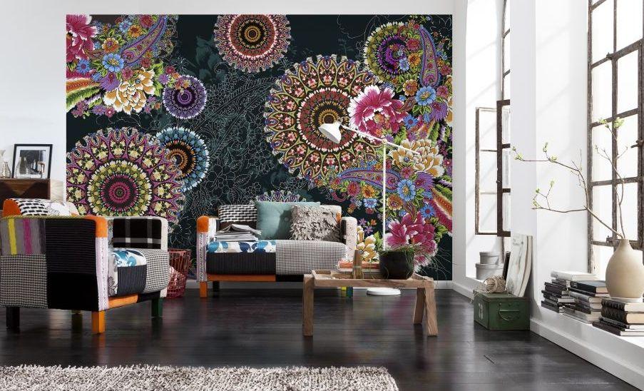 Pin de papeles pintados en fotomurales komar novedades for Murales de pared baratos