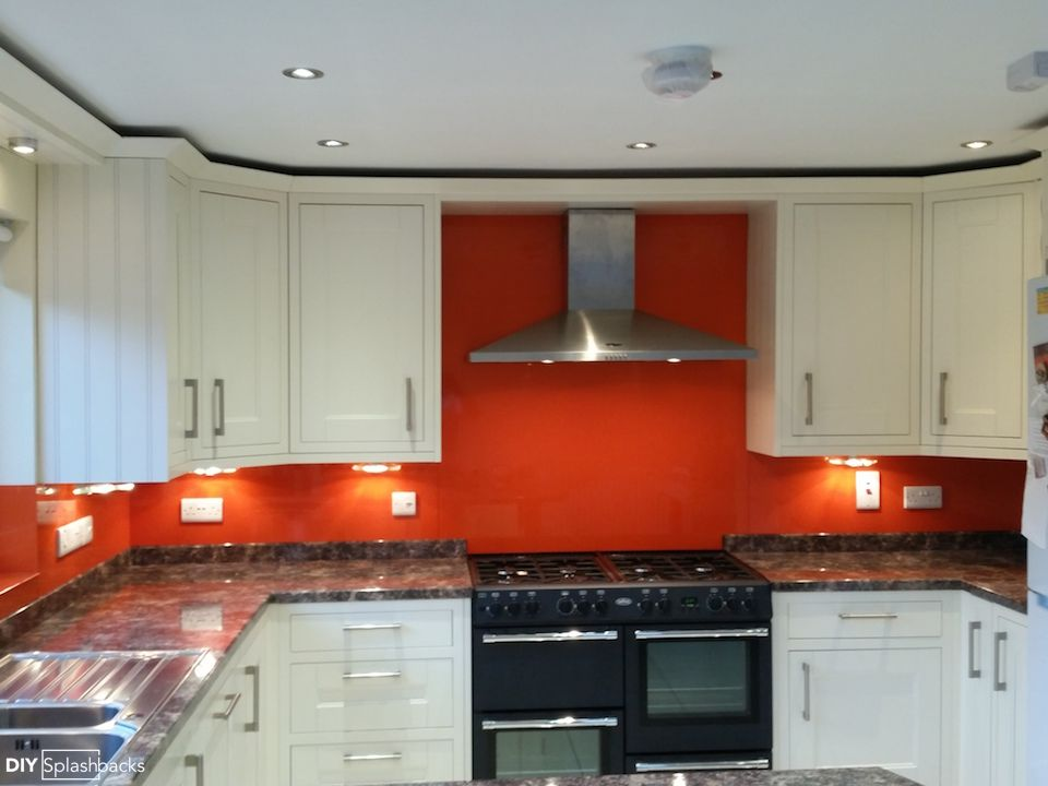 Moroccan Flame Paint Kitchen