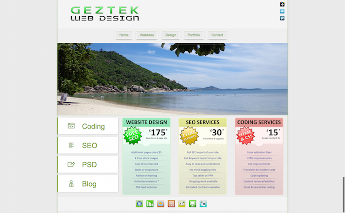 DezineIslands | Contact Us Here | Web Projects