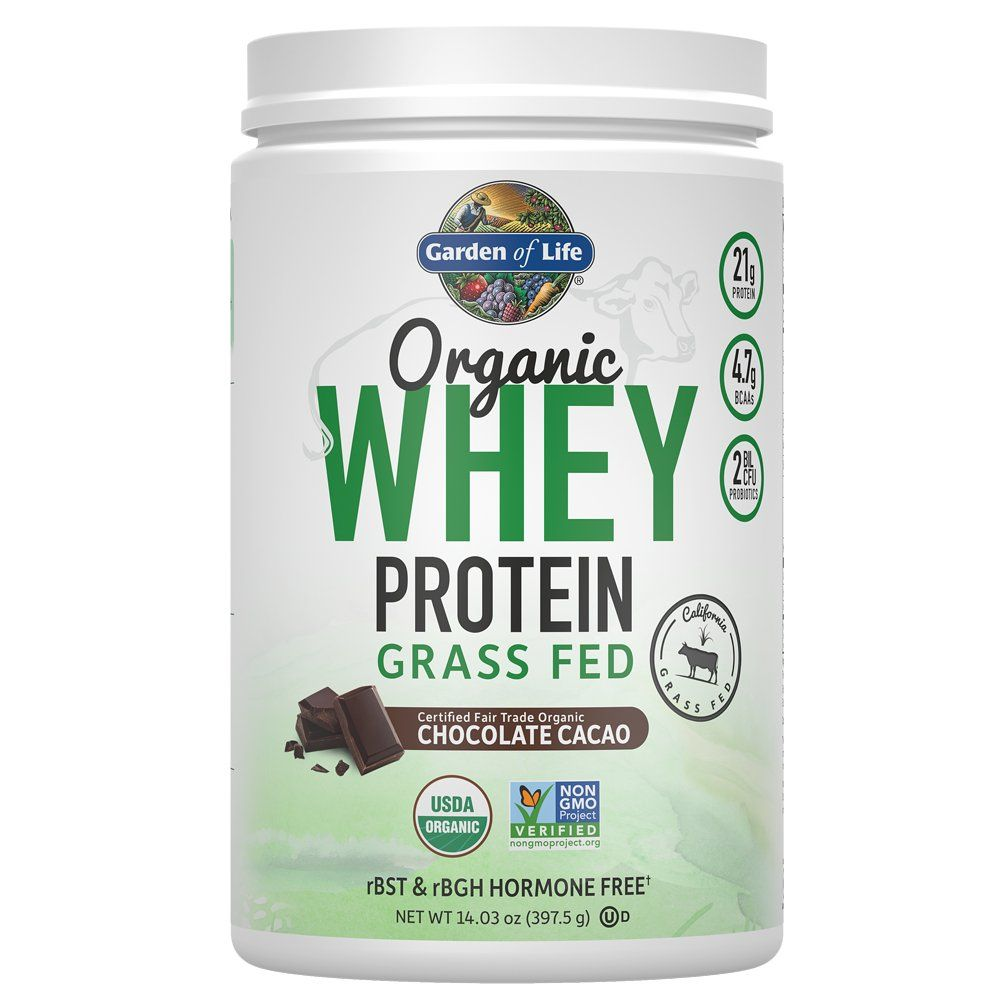 Garden Of Life Protein Powder Organic Whey Protein Powder Grass