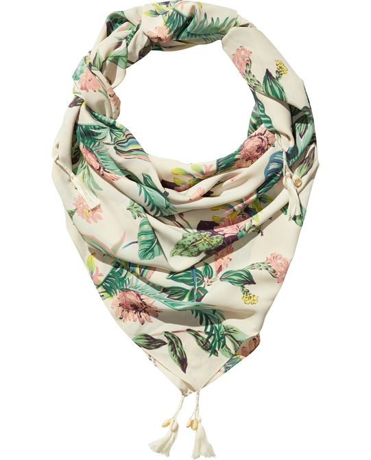 BOTANICAL SCARF - Lightweight Scarves for Spring   Clementine Daily ... 84f1f8cd816
