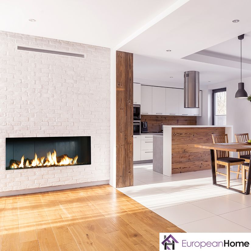 The Modore 140 By Element4 And Distributed By European Home Is A Direct Vent Fireplace With A 55 Wide V Fireplace Vented Gas Fireplace Best Electric Fireplace