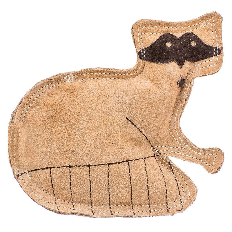Spot Dura Fused Leather Dog Toy Raccoon Dog Toys Online Pet