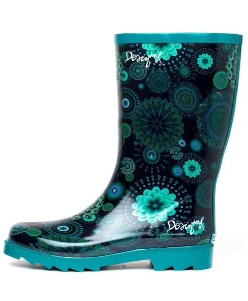 Collezione desigual scarpe autunno inverno 2013 2014 FOTO  #desigual #shoes #scarpe #autunnoinverno #autumnwinter #moda2014 #collection #rainboot