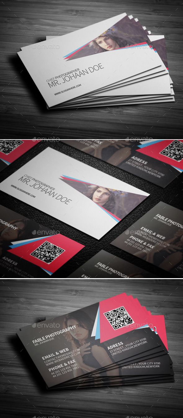 Photography Pro Business Card vol.1 | Pinterest | Business cards ...