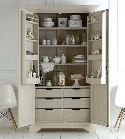 Freestanding larder Pantry or kitchen Pinterest Alacena, Asas