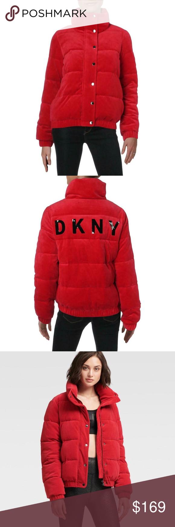 Dkny Sport Puffer Coat Dp8j8262 Puffer Coat Clothes Design Winter Jackets [ 1740 x 580 Pixel ]