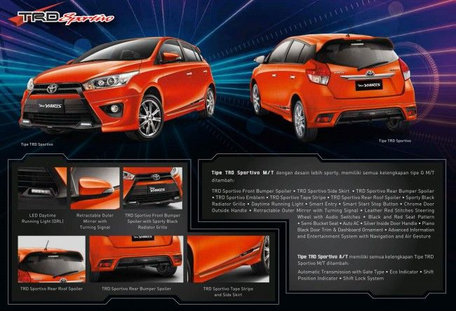 all new yaris trd grand avanza g luxury foto toyota sportivo pinterest