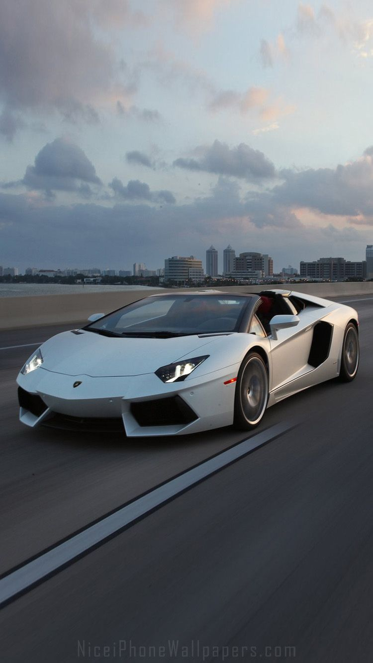 Iphone 6 wallpaper tumblr cars - Lamborghini Aventador Iphone Wallpaper And Background