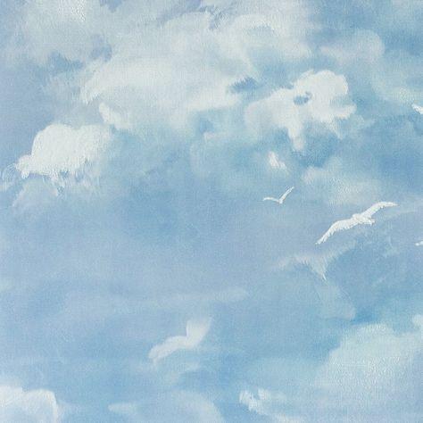 Serenity Soft Blue Sky Photoshop Watercolor Sky Photoshop