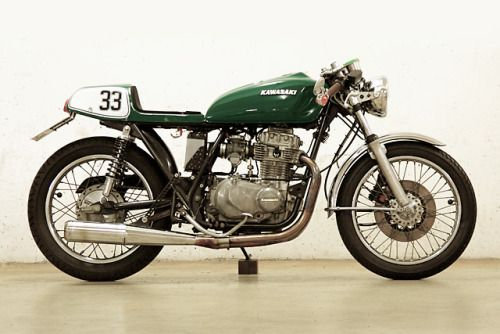 Kawasaki KZ400 Cafe Racer By Jochen Guske Motorcycles Caferacer Motos
