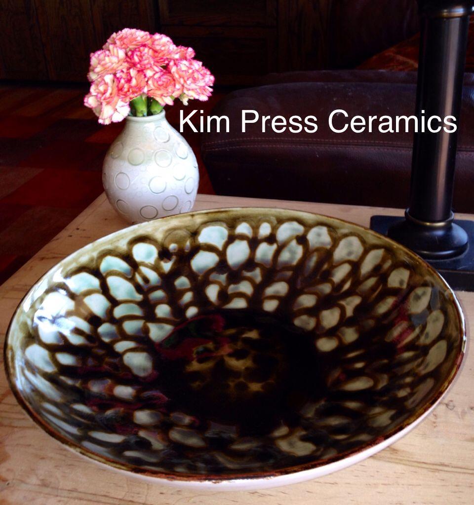 Wide flower bowl Bowl