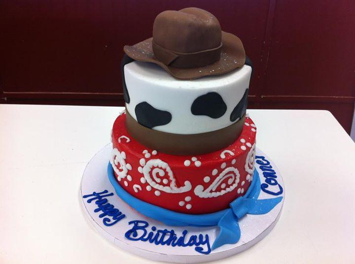 Cowboy Cake At Homestyle Bakery Nashville Tn Kids Birthday