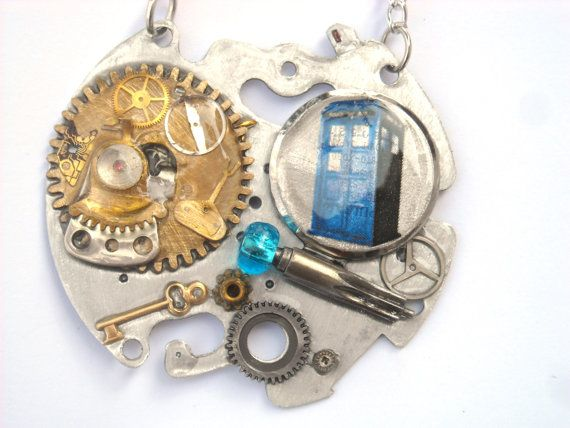 Doctor Who Necklace The Cult of Skaro by TimeMachineJewelry