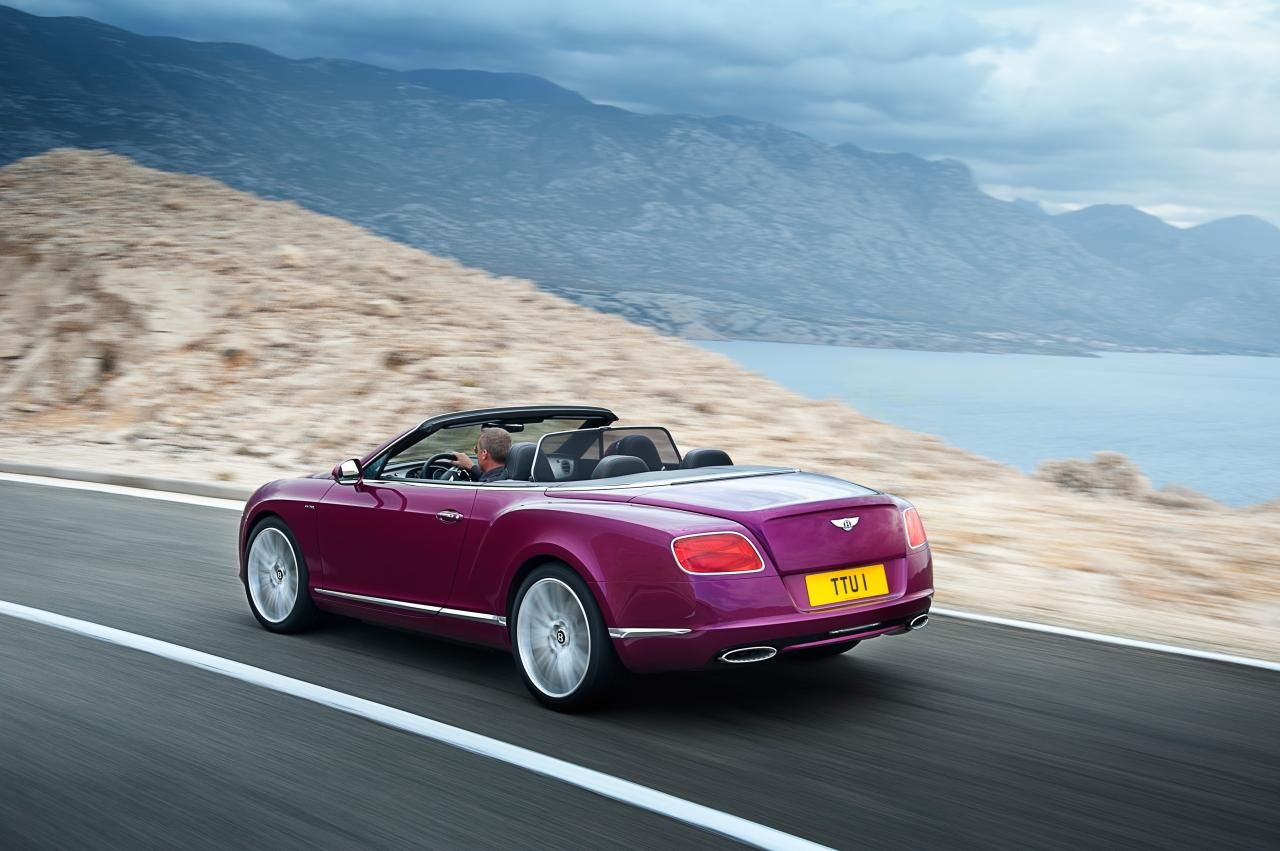 Самый быстрый кабриолет 2013 Bentley Continental GT Speed